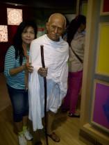 bersama Mahatma Gandhi